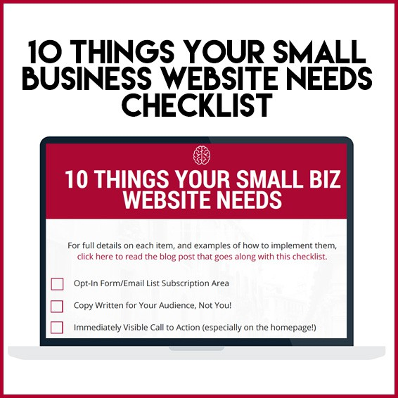 10-things-small-business-website-checklist