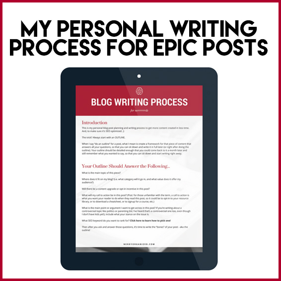 blog-writing-process